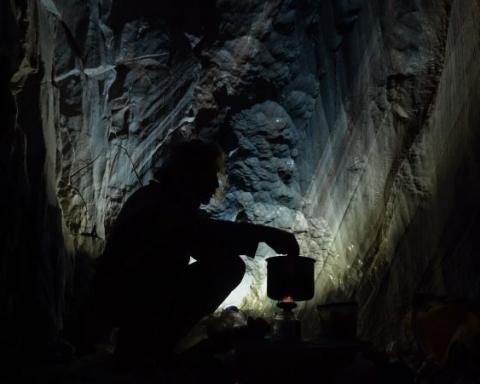 Caveman film di Filippo Dobrilla