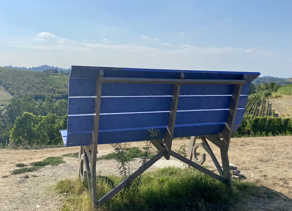 Coazzolo   Big Bench turchese