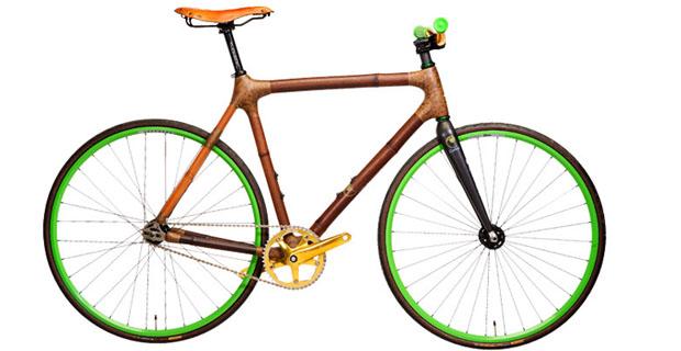 Bici in bambu
