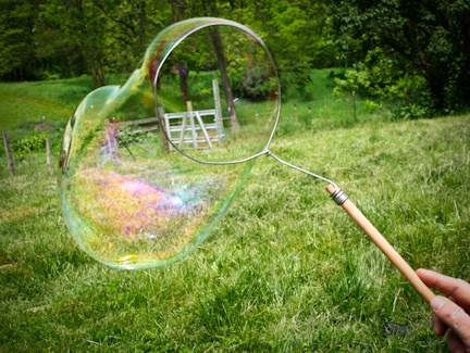 Bubble-wand