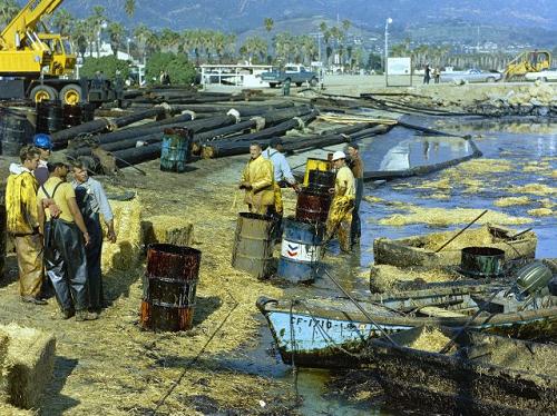 Il disastro petrolifero di Santa Barbara, nel 1969