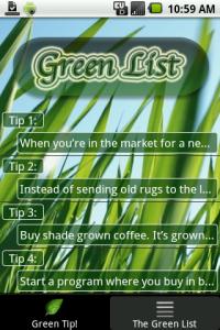 green app: go green