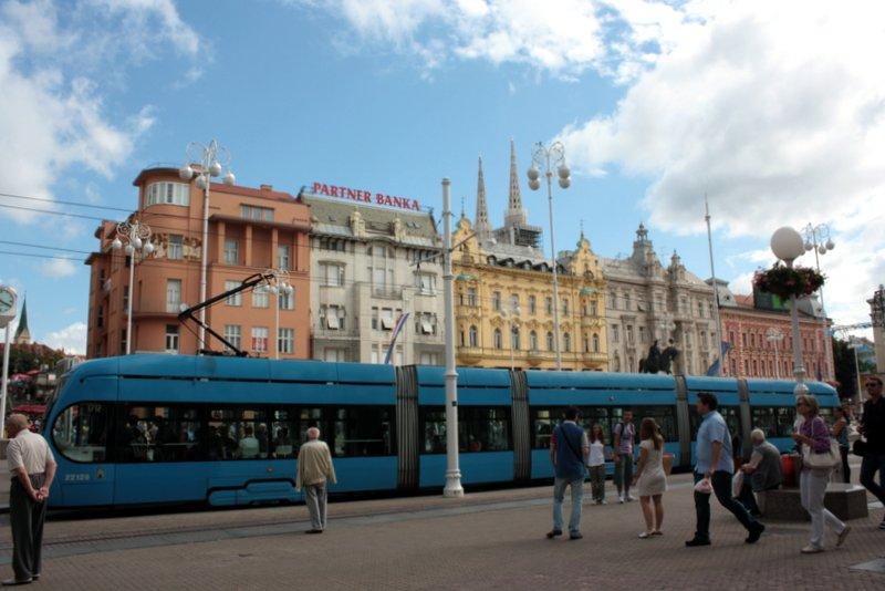 I tram che solcano Zagabria