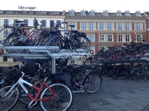 Parcheggio per le bici alla Stazione Centrale