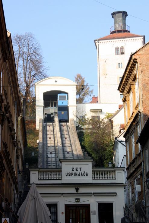 La più antica funicolare dell'Est Europa
