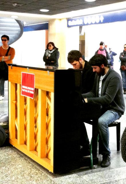 Pianoforte in stazione