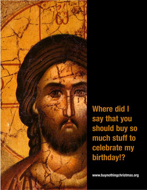 """""""Dove starebbe scritto che dobbiate comprare così tante cose per celebrare il mio compleanno?"""""""