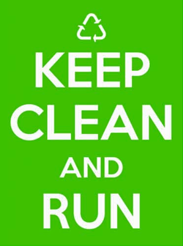 Keep Clean and Run