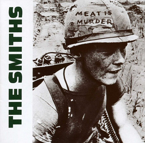 La copertina di Meat is murder