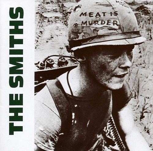 La copertina di Meat is murder
