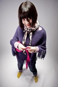 yarn bombing: Margherita Atzori