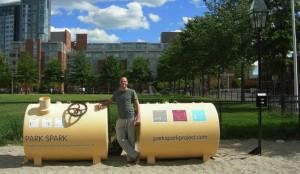 deiezioni canine trasformate in energia pulita: Park SparkProject