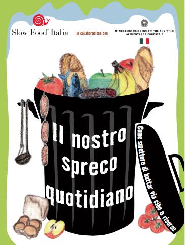 Guida contro lo spreco di cibo di Slow Food