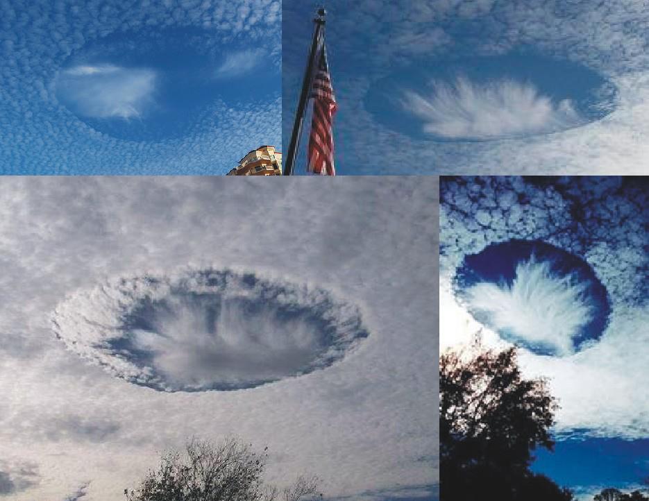 Vasca Da Bagno Ufo : Nuvola perforata: ufo o fenomeno meteorologico?