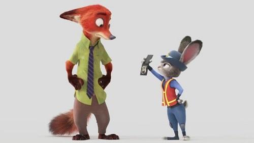 Zootopia, Nick e Judy