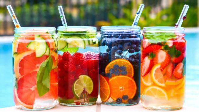 acque alla frutta