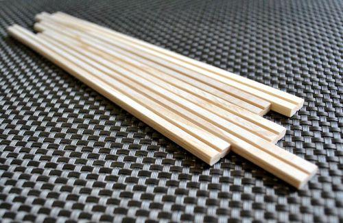 bacchette di legno