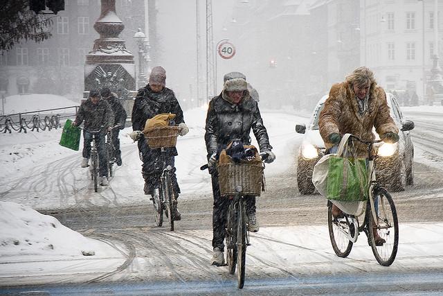 pedalare d'inverno