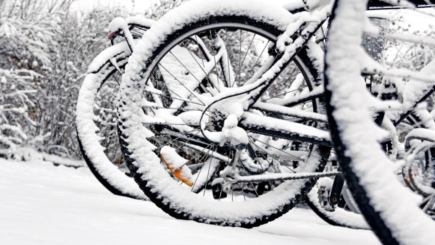 bici con la