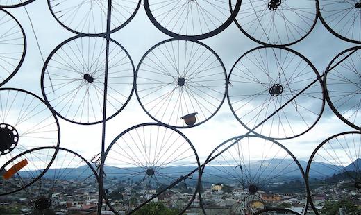 bici ruote guatemala