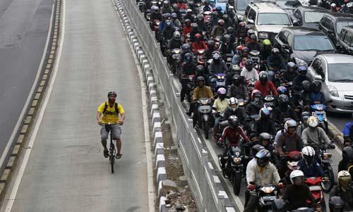 bici traffico