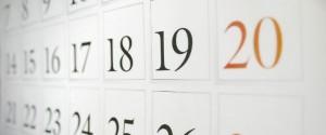 eco-consigli: calendario