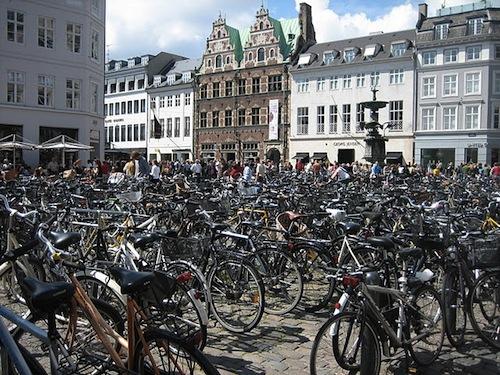 copenhagen-parking bike