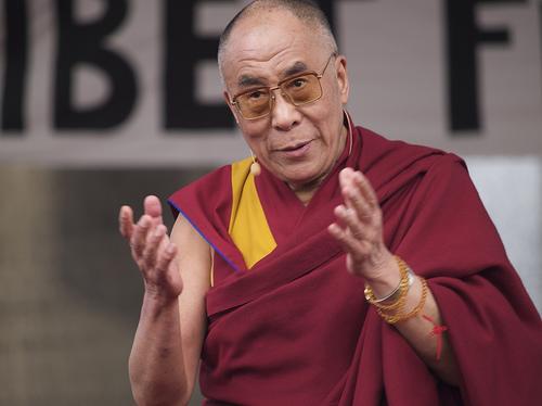 dalai lama in lotta per il Tibet