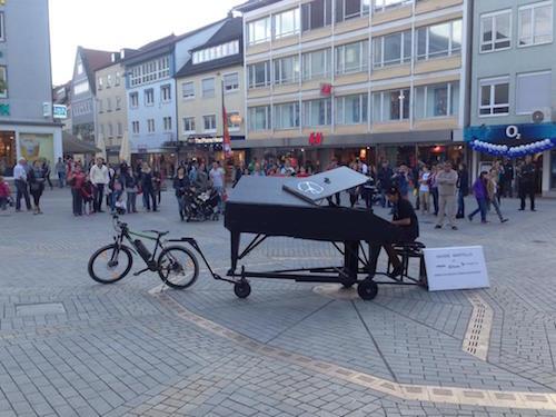 Davide Martello si esibisce in Germania | Foto: Steffen Heizereder