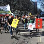 People's Climate March di Londra  7 marzo scorso