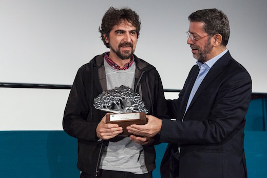 gian luca rossi awarded at cinemambiente