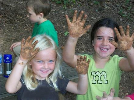 giochi con fango