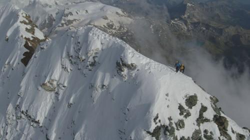 Un'immagine della scalata al Cervino