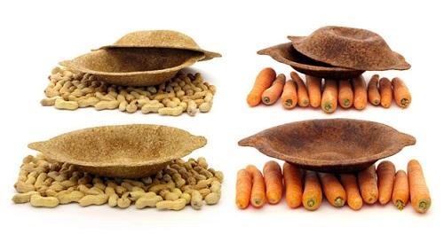 Foodscapes: dagli avanzi di cibo alle ciotole per alimenti