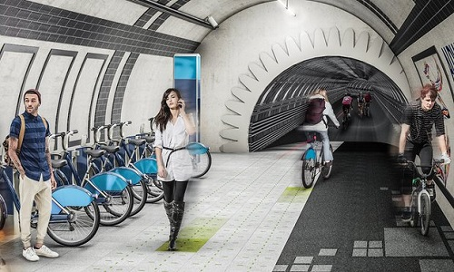The London Underline Project, Londra