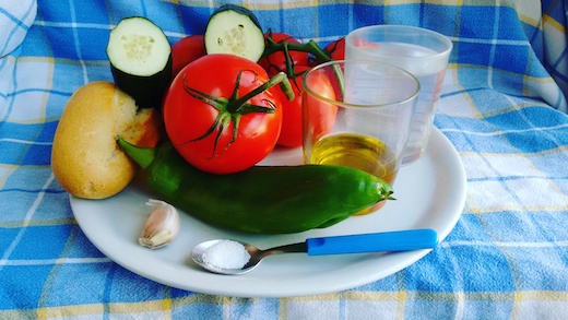 ingredienti gazpacho andaluso