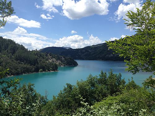 lago nel verdon