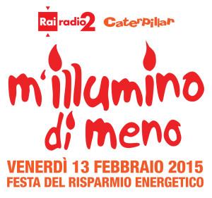 Logo di M'illumino di meno da http://caterpillar.blog.rai.it/