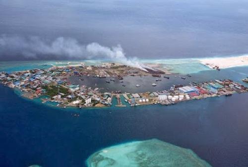 maldive discarica