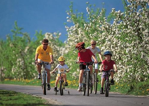 Non resta che tirare fuori la bici dalla cantina e cominciare a pedalare!