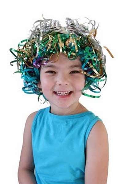 parrucca di carnevale