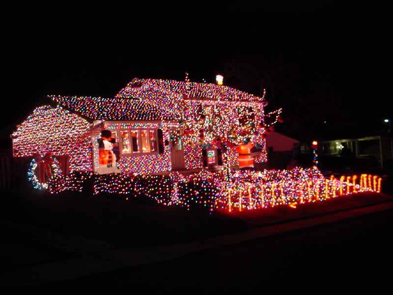 peggiori luci di Natale