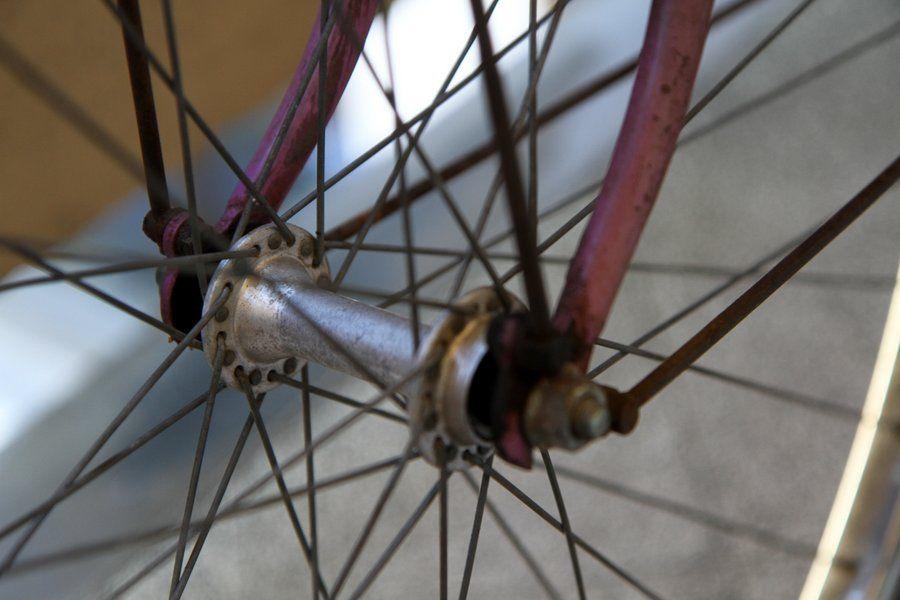 furto della bicicletta: raggi ruota comune to