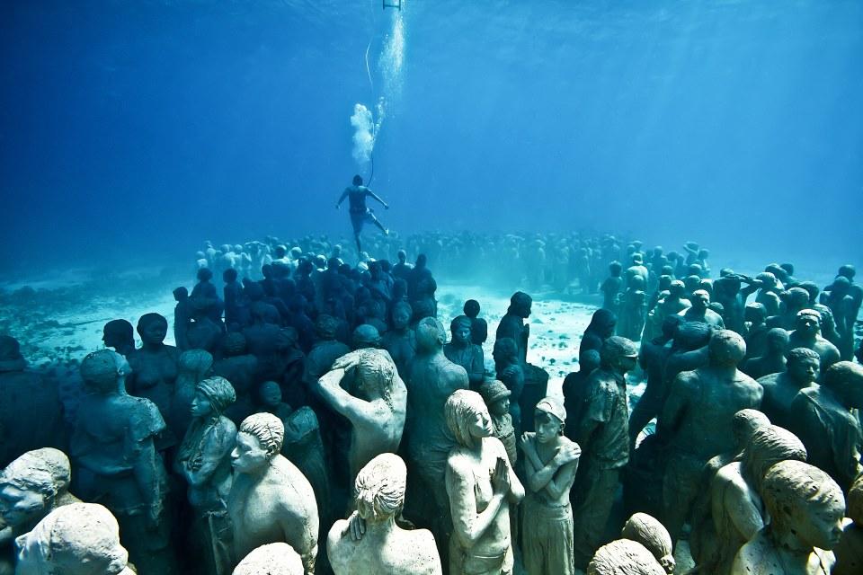 silent_evolution_001_jason-decaires-taylor_sculpture