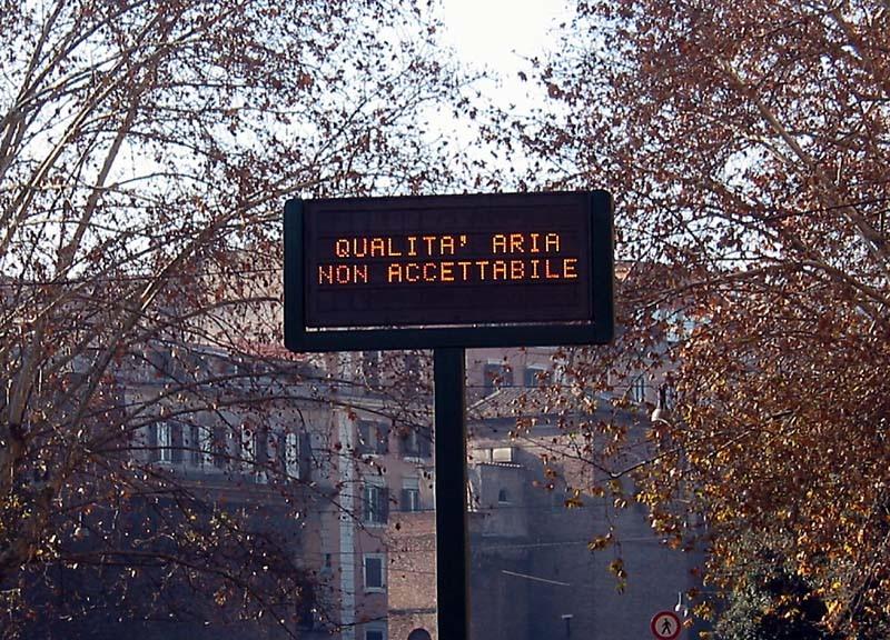 smog qualita aria