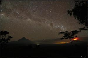 virunga panorama notturno